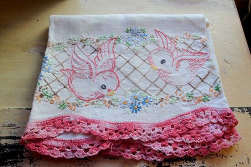 Bird embroider