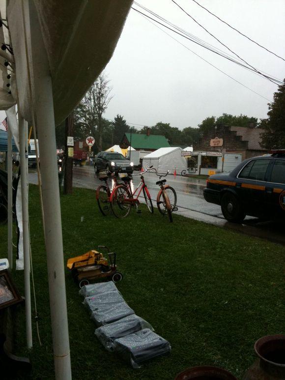 Rainy Days in Bouckville Always Get Me Down