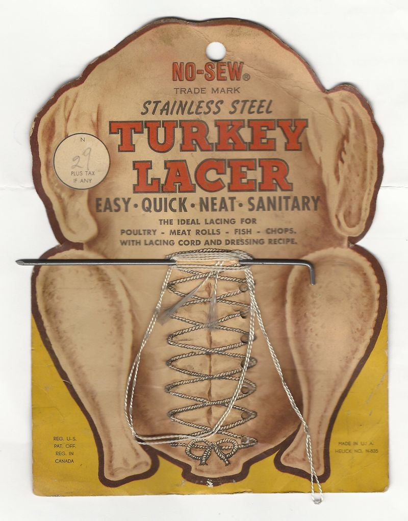 Vintage turkey lacer