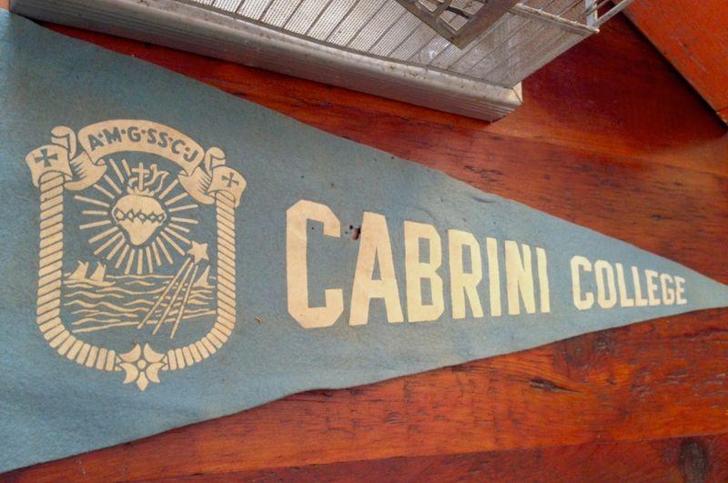 Cabrini banner