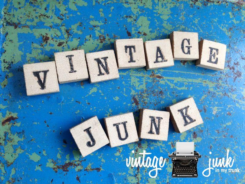 Vintage junk watermark